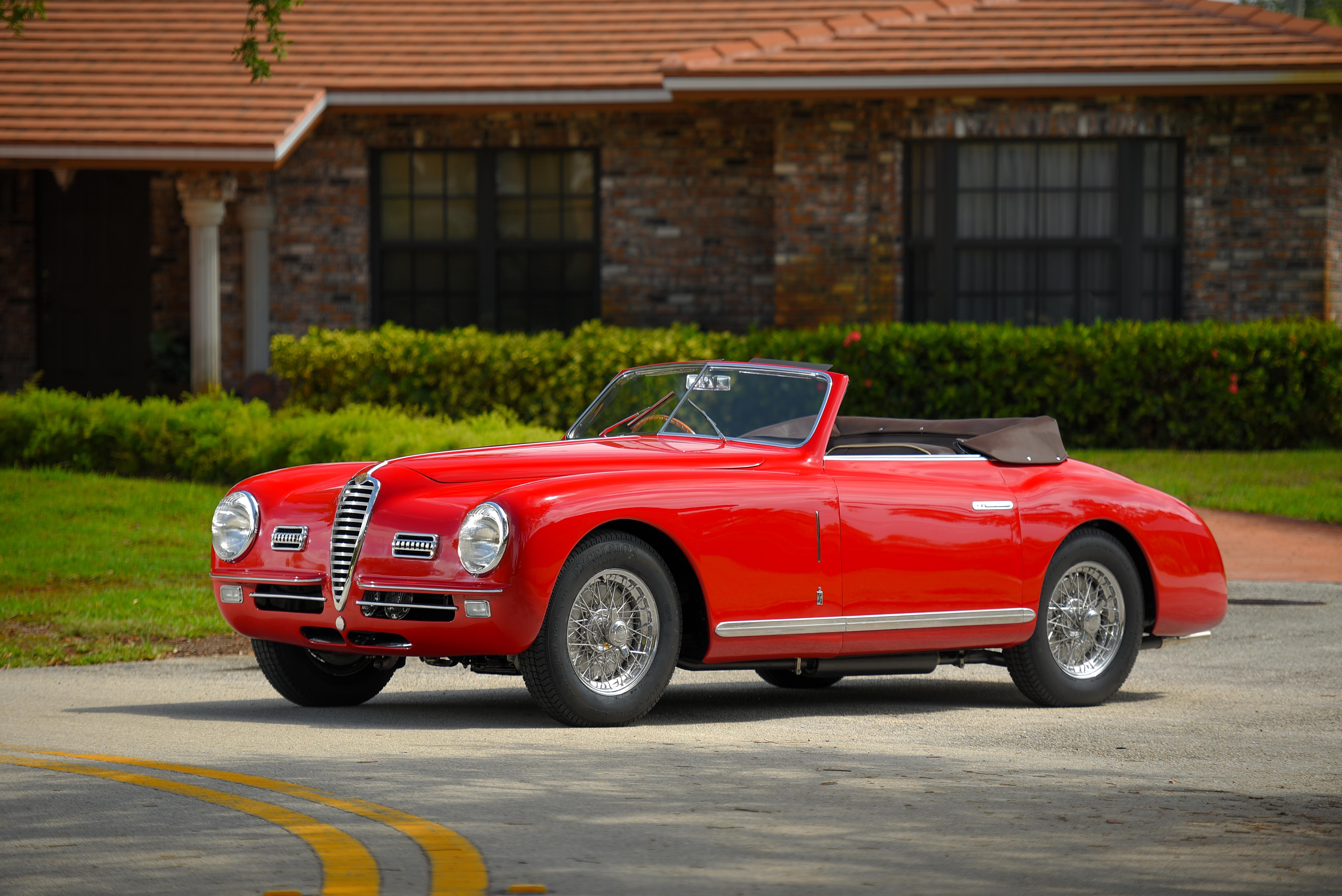 1949 Alfa Romeo 6C 2500 Super Sport Cabriolet